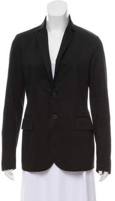 Tomas Maier Single-Breasted Notch-Lapel Blazer