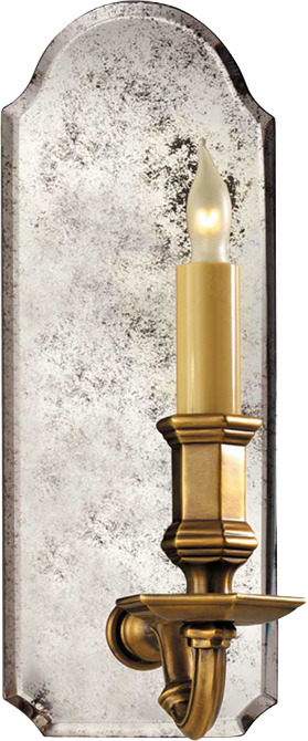 E.F. Chapman SMALL KENSINGTON MIRRORED SCONCE