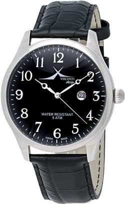 Visconti Set Rollerball Pen, Wallet, Dial Quartz Men's Watch SH9622BKL
