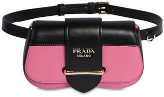ca62598c3f2f5 Prada Sidonie Bicolor Leather Belt Bag