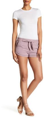 Jolt Tie-Front Short (Juniors) $42 thestylecure.com