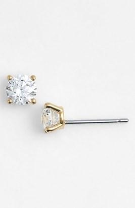 Women's Nadri Small Cubic Zirconia Stud Earrings $25 thestylecure.com