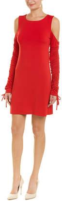 Susana Monaco Cold-Shoulder Shift Dress