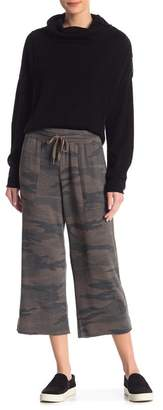 Splendid Camo Cropped Pants