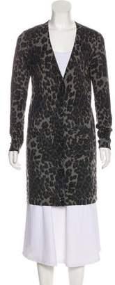 Diane von Furstenberg Knit Longline Cardigan