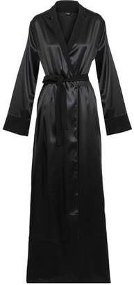 La Perla Silk-Blend Satin Robe