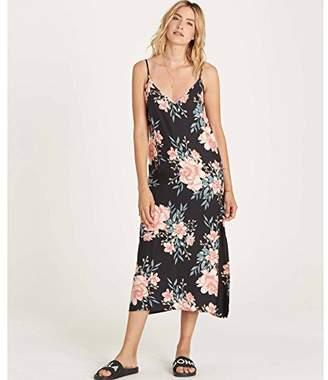 Billabong Women's Dreamy Garden Printed Woven Slip Dress