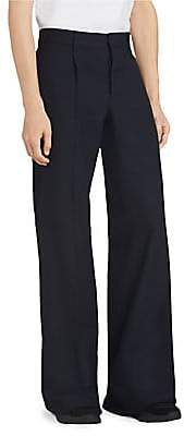 Burberry Men's Wool Flare Pants
