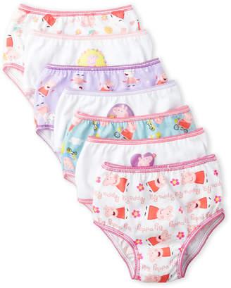 Peppa Pig Toddler Girls) 7-Pack Panties