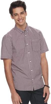 Vans Men's Graphic Button-Down Shirt