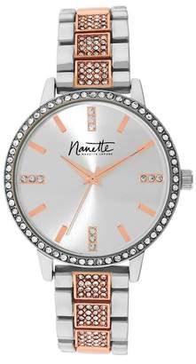 Nanette Lepore NANETTE Women's Two-Tone Metal Watch, 36mm