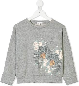 Chloé Kids sweatshirt with leopard motif