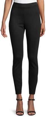 Elie Tahari Trina High-Waist Double-Knit Pants