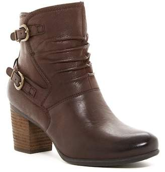 Josef Seibel Britney Ruched Leather Ankle Boot
