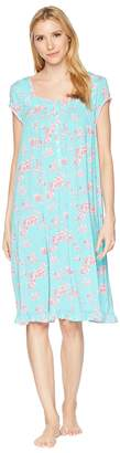 Eileen West Modal Floral Cherry Blossoms Print Waltz Nightgown Women's Pajama