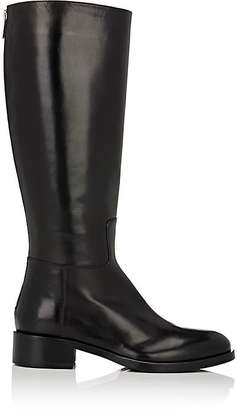 Barneys New York Women's Back-Zip Riding Boots-BLACK $525 thestylecure.com