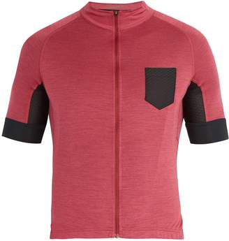 CAFÉ DU CYCLISTE Louise wool-blend cycle top