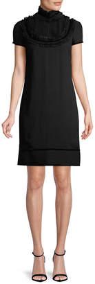 DSQUARED2 Pintuck Bib Dress