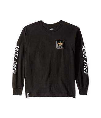 Salty Crew Kids Runaway Long Sleeve Tee (Little Kids/Big Kids)