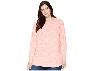 Fresh Produce Extra Fresh by Plus Size Ocean Tide Catalina Top