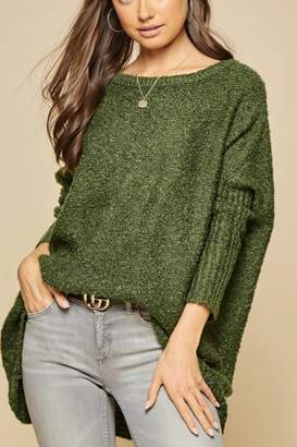 Andree By Unit Oversized Off-Shoulder Sweater