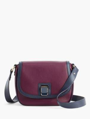 Talbots Pebbled-Leather Crossbody Bag