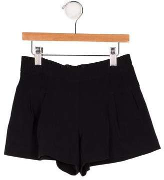 Milly Girls' Pleated Mini Shorts