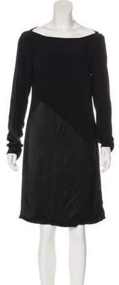 Giles Silk Knee-Length Dress