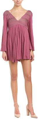 Anama Pleated Mini Dress