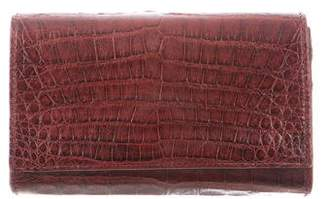 Carlos Falchi Fatto a Mano by Crocodile Convertible Clutch