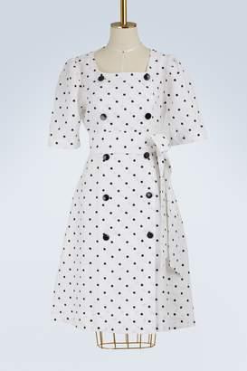 Lisa Marie Fernandez Diana linen dress