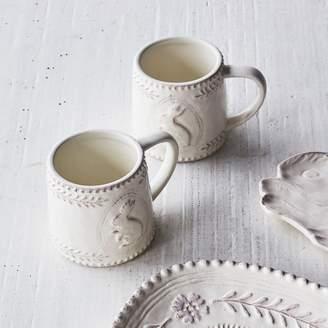 Embossed Bunny Mug