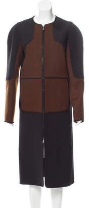 Reed Krakoff Zip-Up Long Coat