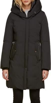 Soia & Kyo Slim Fit Hooded Down Coat