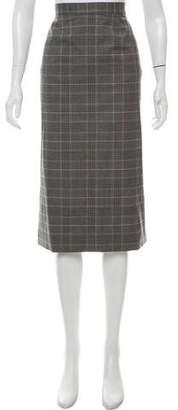 Goop G. Label Tweed Knee-Length Skirt w/ Tags
