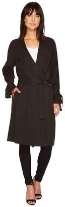 Splendid Drape Trench Coat Women's Coat