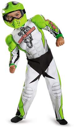 Disguise 84003L Motocross Toddler Muscle Costume, Large (4-6)
