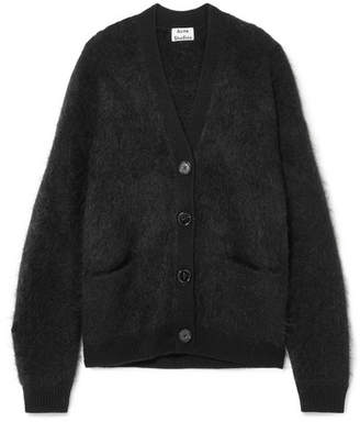 Acne Studios Rives Knitted Cardigan - Black
