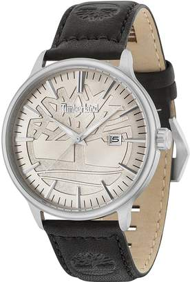 Timberland Men's 'EDGEMOUNT' Quartz Stainless Steel and Leather Casual Watch
