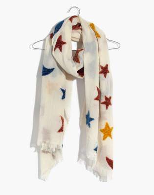 Madewell Starry Night Chenille Scarf