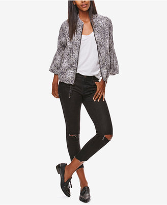 Free People Ripped Skinny Jeans $78 thestylecure.com