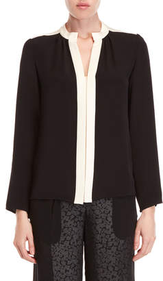Derek Lam Kara Long Sleeve Blouse