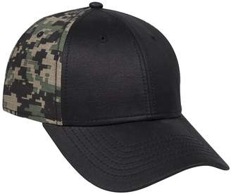 Otto Caps OTTO Digital Camouflage Cotton Ripstop Back 6 Panel Low Profile Baseball Cap