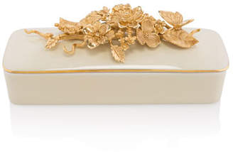 Jay Strongwater Rectangle Branch Flower Box