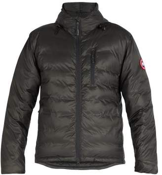 Canada Goose Lodge Hooded Jacket - Mens - Dark Grey