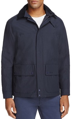 Barbour Vapour Hooded Jacket $429 thestylecure.com