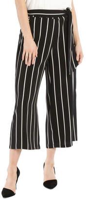 Tie Waist Culotte - Stripe
