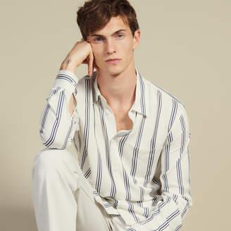 Sandro Long-sleeved striped shirt