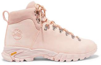 Diemme Maser Lt. Hiker Suede Ankle Boots - Pastel pink