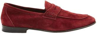 Non Signé / Unsigned Non Signe / Unsigned Burgundy Suede Flats